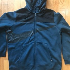 Men's Nike Funnel Neck Hoodie Sweatshirt sz XL
